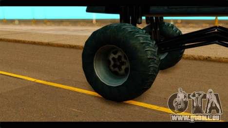 Monster Buffalo pour GTA San Andreas sur la vue arrière gauche