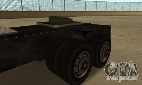 PS2 Tanker pour GTA San Andreas vue arrière