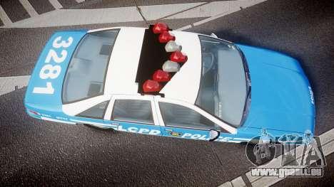 Chevrolet Caprice 1993 LCPD With Hubcabs [ELS] für GTA 4 rechte Ansicht