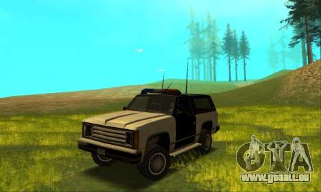 Beta Police Ranger für GTA San Andreas