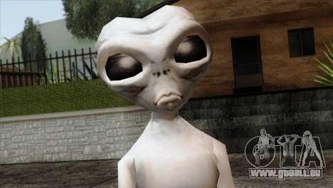Zeta Reticoli Alien Skin from Area 51 Game für GTA San Andreas dritten Screenshot