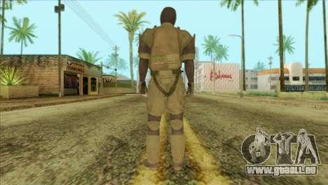Metal Gear Solid 5: Ground Zeroes MSF v2 für GTA San Andreas zweiten Screenshot