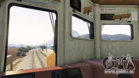 Conducteur de Train pour GTA 5