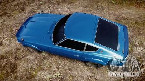 Nissan Fairlady Z (S30) Devil Z pour GTA 4 est un droit