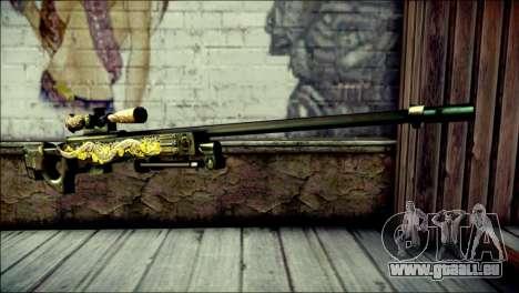 AWM Infernal Dragon CrossFire für GTA San Andreas
