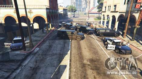 Hardcore Police Chasing für GTA 5