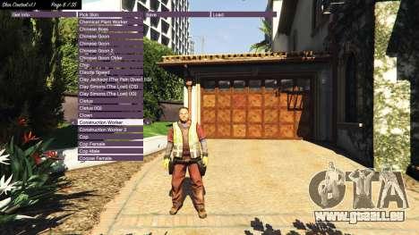 GTA 5 Skin Control v1.1 dritten Screenshot