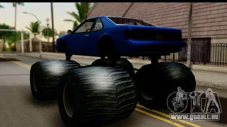 Monster Fortune pour GTA San Andreas laissé vue