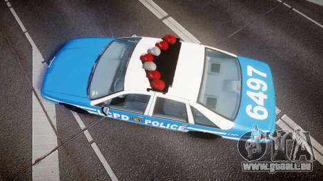Chevrolet Caprice 1993 LCPD Without Hubcabs ELS pour GTA 4 est un droit