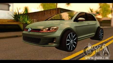 Volkswagen Golf Mk7 2014 pour GTA San Andreas