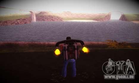 Ebin 7 ENB pour GTA San Andreas troisième écran