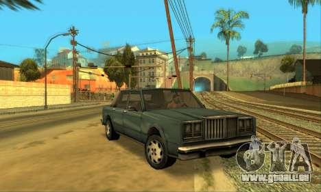 Beta VC Greenwood pour GTA San Andreas vue intérieure