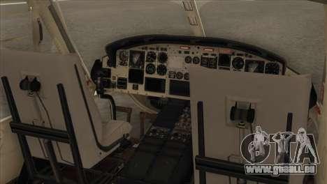 Agusta-Bell AB-212 Croatian Police für GTA San Andreas Rückansicht