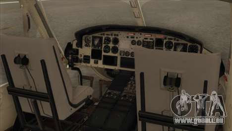 Agusta-Bell AB-212 Croatian Police pour GTA San Andreas vue arrière