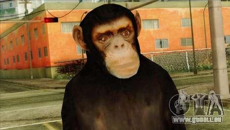 Monkey Skin from GTA 5 v1 für GTA San Andreas dritten Screenshot