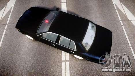 Ford Crown Victoria NYPD Unmarked [ELS] für GTA 4 rechte Ansicht