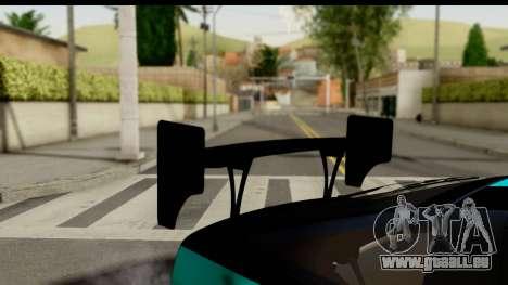 Nissan 200SX S13 Skin pour GTA San Andreas vue arrière