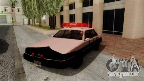 Karin Primo Police pour GTA San Andreas