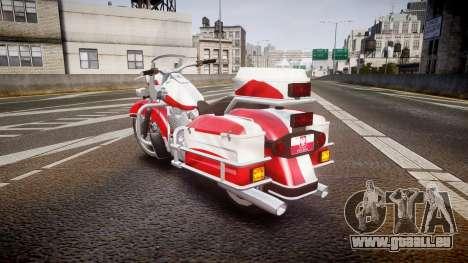 GTA V Western Motorcycle Company Sovereign POL pour GTA 4 Vue arrière de la gauche