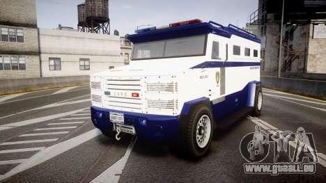 GTA V Brute Police Riot [ELS] skin 3 pour GTA 4