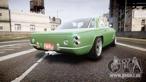 GTA V Lampadati Casco pour GTA 4 Vue arrière de la gauche