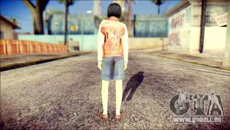 Sofia Child Skin pour GTA San Andreas deuxième écran