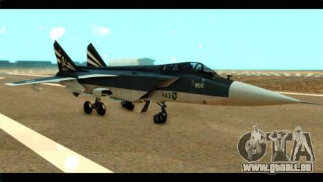 MIG-31 Pirat Squadron pour GTA San Andreas