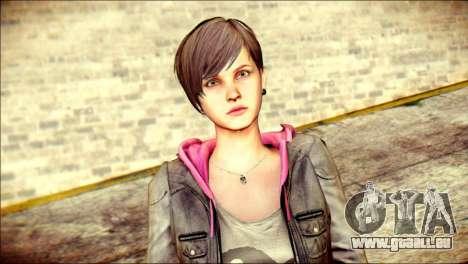 Moira Burton from Resident Evil pour GTA San Andreas troisième écran