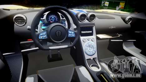 Koenigsegg Agera 2013 Police [EPM] v1.1 PJ1 für GTA 4 Innenansicht