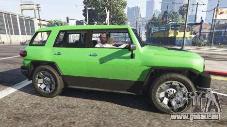 GTA 5 Die Passagier-v0.1 dritten Screenshot