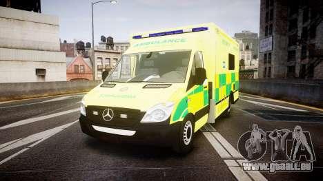 Mercedes-Benz Sprinter Ambulance [ELS] pour GTA 4