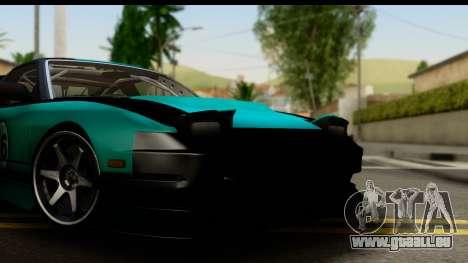 Nissan 200SX S13 Skin pour GTA San Andreas sur la vue arrière gauche