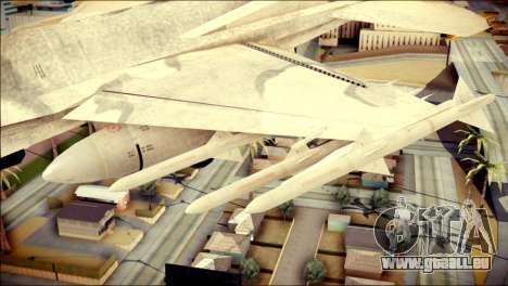 P-996 Lazer pour GTA San Andreas vue de droite