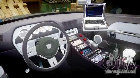Dodge Challenger RT 2006 Pursuit Vehicle [ELS] für GTA 4 Rückansicht