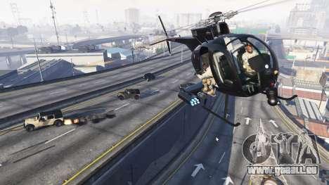 GTA 5 Soldaten mit 5 Sterne dritten Screenshot