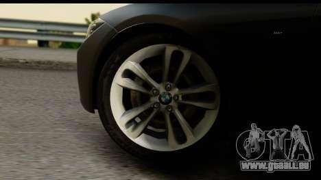 BMW 335i Coupe 2012 pour GTA San Andreas vue arrière
