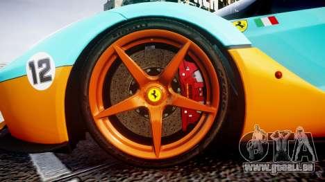 Ferrari LaFerrari 2013 HQ [EPM] PJ1 pour GTA 4 Vue arrière