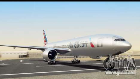 Boeing 777-200ER American Airlines pour GTA San Andreas