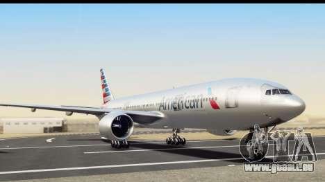 Boeing 777-200ER American Airlines für GTA San Andreas