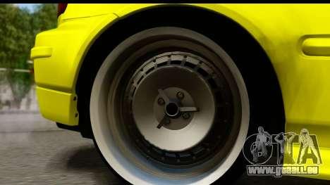Honda Civic 1.4 Taxi für GTA San Andreas Rückansicht