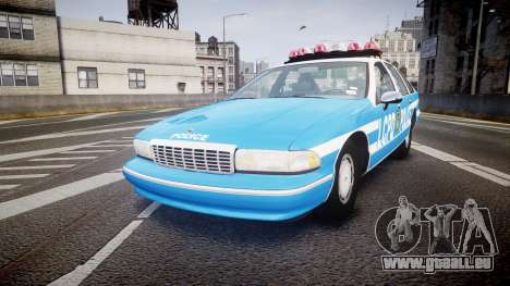 Chevrolet Caprice 1993 LCPD With Hubcabs [ELS] pour GTA 4