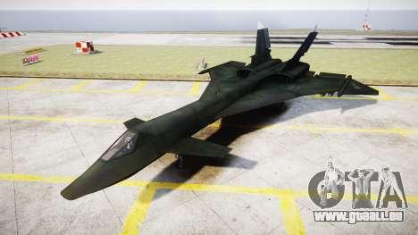 MiG-31 Fire Fox MEC PJ pour GTA 4