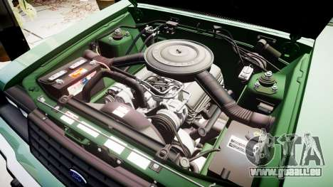 Ford LTD LX 1985 v1.6 pour GTA 4 vue de dessus