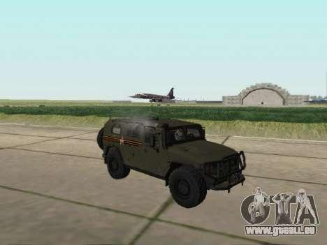 GAZ-2330 Vor für GTA San Andreas rechten Ansicht