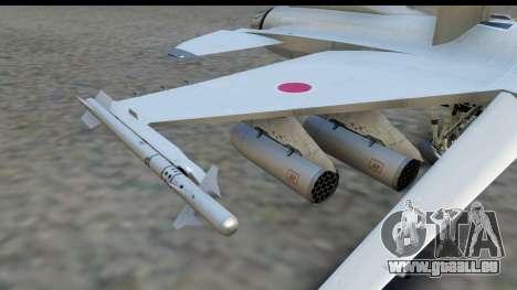 F-2A Zero White für GTA San Andreas rechten Ansicht