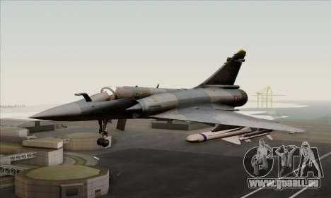 Dassault Mirage 2000-5 ACAH für GTA San Andreas