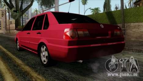Volkswagen Santana pour GTA San Andreas laissé vue