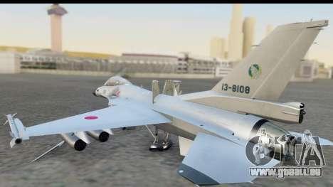 F-2A Zero White pour GTA San Andreas laissé vue