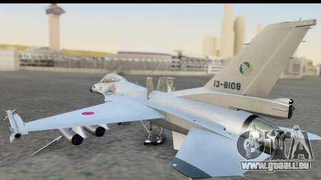 F-2A Zero White für GTA San Andreas linke Ansicht