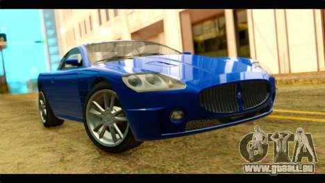 GTA 5 Ocelot F620 für GTA San Andreas